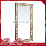 Beiqi Wholesale Price Modern Style Used Styling Mirror Station Makeup Mirror with Frame Salon Furniture