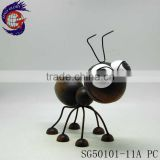 cute metal iron home decorative multi color ant