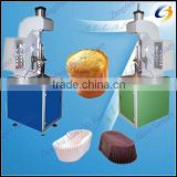 Cookie paper tray forming machine for wrapping muffin,cupcakes,wedding cakes manufacturer