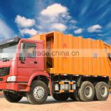 2015 new product HOWOJHL5250ZYS 16CBM Compressed Garbage truck price for sale made in china hot sale
