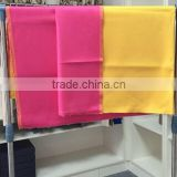 rose and yellow colour 20% cashmere 80% wool fabric