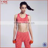 women sexy sublimated sportswear compression seamless sportswears, yoga leggings, sports bra