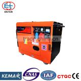 10KW Silent Diesel Generator set KWD6500ETS                                                                         Quality Choice