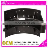 Brake shoe for mercedes benz truck spare parts/Zhejiang OEM for mercedes benz truck spare parts/mercedes benz truck spare parts