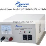 Marine Power Supply used for Gyro Compass, MF/HF transceiver Input 110/220VAC/ 24VDC Output 24VDC, 15A