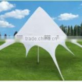 Factory sale white oxford fabric Star tents star shaped canopy tent star shade tent canopy star sun shelter