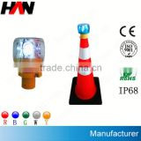 Red Solar Traffic Warning Light (Used in Ships,Boats,Yacht,Buoys,Mining Truck Roads,Airport etc)