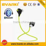 Wireless headphone CSR4.0 Mini QY7 Sports Bluetooth Earphone, High quality Wireless Stereo noodle bluetooth headphone headset