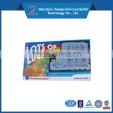 Digital Printing Printing Type and Paper & Paperboard Product Material Prepaid Recharge Couppon Scratch Card Actiation Voucher