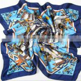 china factory low price digital printing small neck scarf