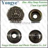 17mm Eco-friendly metal clothing snap button for coats