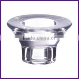 Clear Pressed Glass Thick Bottom tealight holder