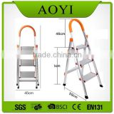 AY kinder surprise high quality big step aluminum household step folding ladder with en131