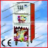 CE Approved three colour italian ice cream machine