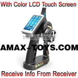 mr-496it4 Touch screen transmitter 4CH Bidirectional Auto Frequency Hopping Digital Proportional Remote Controller