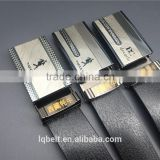 aviation belt Rubber PVC Men's Plate buckle belts wholesale belts for men Good quality