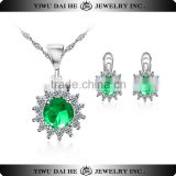 hot sell Daihe 925 sterling silver jewelry wholesale set