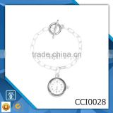 china supplier silver alloy women's watch oem