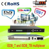 TS re-multiplexer complying with ISDB_T and ISDB_TB standard