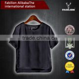 over 10 years experience black bulk women's for high quality plain t-shirt