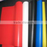 Flame retardant waterproof pvc vinyl coated pvc fabric,pvc woven polyester fabric