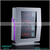 Classical Standard Size Transparent Lcd Display Box For Wine/Watch/Cigarette                                                                         Quality Choice