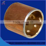 liners and backing materials bronze alloy wrapped bushings bearing 70mm bore with high load capacity for steel rolling industry
