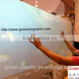 Holographic transparent Foil glass screen/Holographic Touch Screen for Advertising display