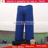 New design advertising inflatable pants / giant inflatable jeans / customized inflatable trousers for sale