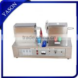 Table type Ultrasonic soft tube sealing machine with cutting function for toothpaste,cosmetics
