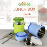 Allnice 2-layers Promotional stainless steel Plastic insulated food container/food carrier for dinner