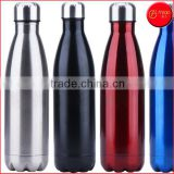 New Thermos Vacuum Tumbler Vacuum Flask 17 oz Cola Shaped Blue Insulated Double Wall Vacuum Stainless Steel Water Bottle