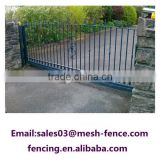 Salable Decorative Good-quality Electrical Gate/Sliding Gate/Automatic Iron Gate For Factory