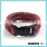 Best selling durable using special paracord 550 survival bracelet