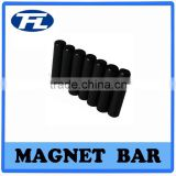 NdFeB magnet with bar type epoxy resin sintered and black coating for industrial ,moto.educational and water heater
