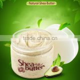 Private label Natural Organic Shea Butter body scrub custom brand OEM