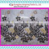 Embroidery Factory Computer Embroidery Designs Laser embroidery fabric Trimming Apperal Textile Accessories Print Fabric