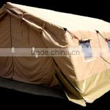 Army dispensary frame tent , Hospital Tent , 100 % Cotton Canvas waterproof tent , medical relief tent