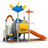 Attractive dream-sky style kindergarten outdoor playground equipment with 14 optinal sizes