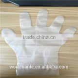 Wholesale top quality disposable sterile food and medical usage CPE plastic gloves