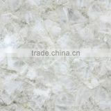white quartz natural stone mosaic tile for surface decoration                                                                                                         Supplier's Choice