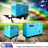 90KW portable dive screw air compressor for swimming pool