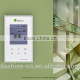 design and make plastic thermostat enclosure with touch glass ,lcd and other assembles