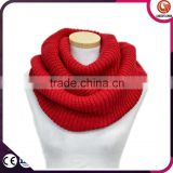 hot selling lady's multicolored acrylic cable scarf knitting pattern for winter cachecol,bufanda infinito,bufanda