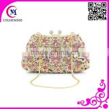 Cute Pure manual full stone clutch purses CT-00103 fashion fashion Butterfly bag for wedding/party