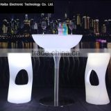 rechargeable led bar furniture lighted led square bar table night club led bar counter stand