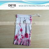 hot sell custom size/color/printing Microfiber Pouch/bag for optical eyeglass/sunglass/phone/camera/jewelry
