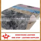 Full grain leather synthetic for sofa arm,furniture covers,table mat with competitive price