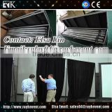 Adjustable telescopic banner pole pipe and drape used pipe and drape kits with road case