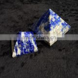 Natural Lapis Lazuli Stone With Healing Energy Crystal Pyramid Ornaments